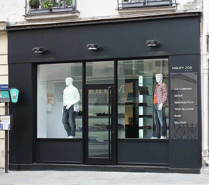 Très Façade de magasin | Vitrier, Miroiterie Oise 60, Tel: 03 44 28 15  KZ47